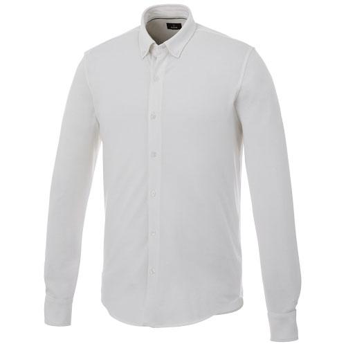 Chemise pour homme publicitaire Bigelow - chemise personnalisée en coton éco