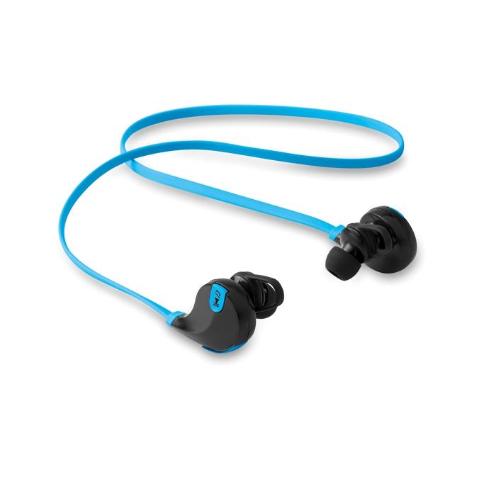 Objet publicitaire - Écouteurs publicitaires Bluetooth Rockstep