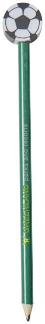 Crayon publicitaire football Goal vert