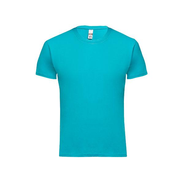 T-shirt personnalisable unisexe pour enfant Quito couleur bleu
