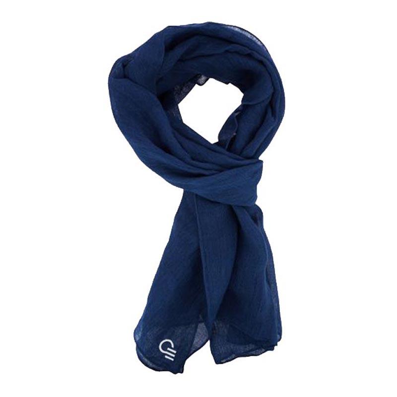 Textile publicitaire - Foulard bleu