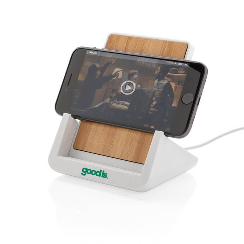 Support téléphone avec chargeur à induction 5W Ontario