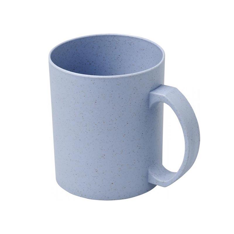 Mug personnalisé et réutilisable en fibres de paille de blé Pécos