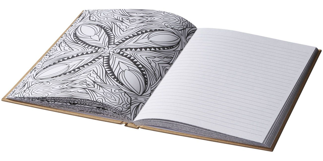 Cahier de coloriage publicitaire pour adultes Fiddle - cadeau publicitaire