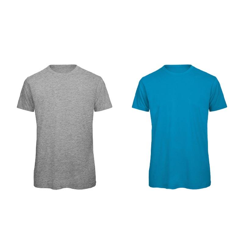 T-Shirt personnalisé coton bio 140 g/m² Inspire- jaune