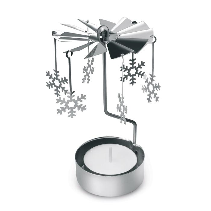 Goodies de Noël - Bougie publicitaire Carillon de Noël Chimas