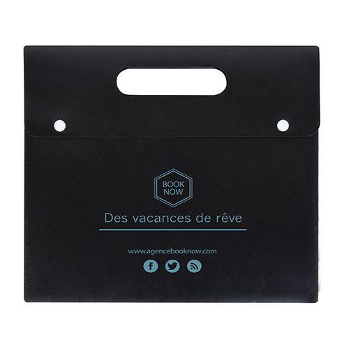 Porte-documents personnalisable  rouge- valisette personnalisée Athéna