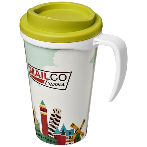 Mug isotherme publicitaire Brite-Americano® grande 350 ml - Mug personnalisé