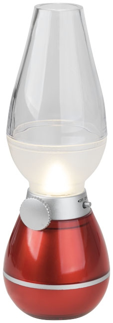 cadeau publicitaire - Lanterne publicitaire Hurricane rouge