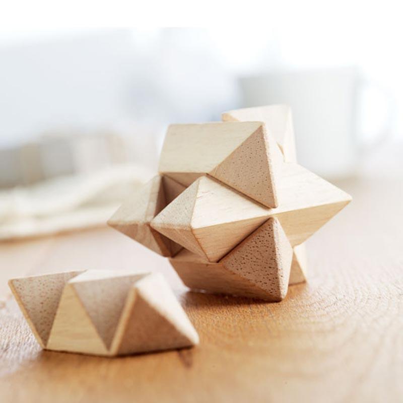 Casse-tête en bois Starnats pour marquage logo