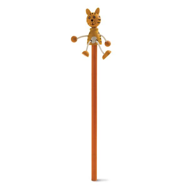 Crayon à papier promotionnel Toys Tigre - goodies pour enfants