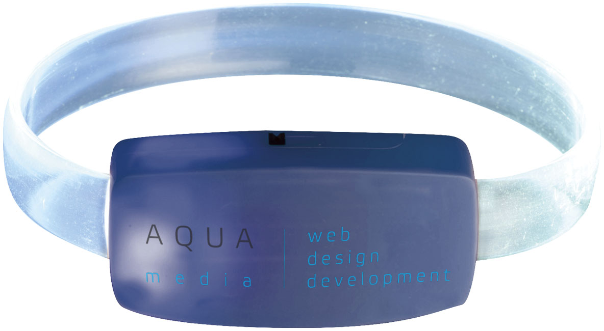 Bracelet publicitaire Raver - bracelet personnalisable - goodies