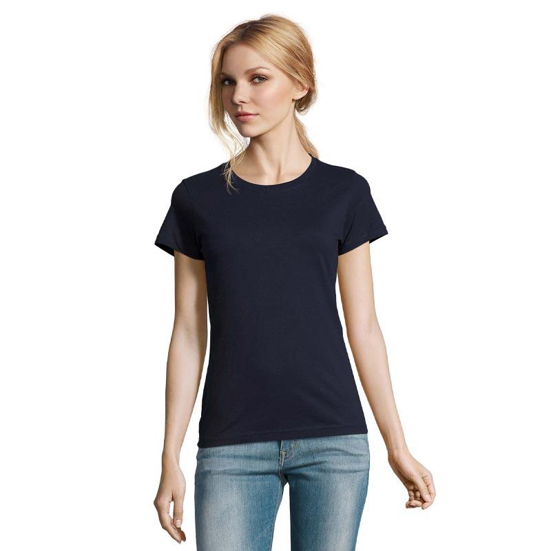 tee-shirt publicitaire pour femme imperial - devant