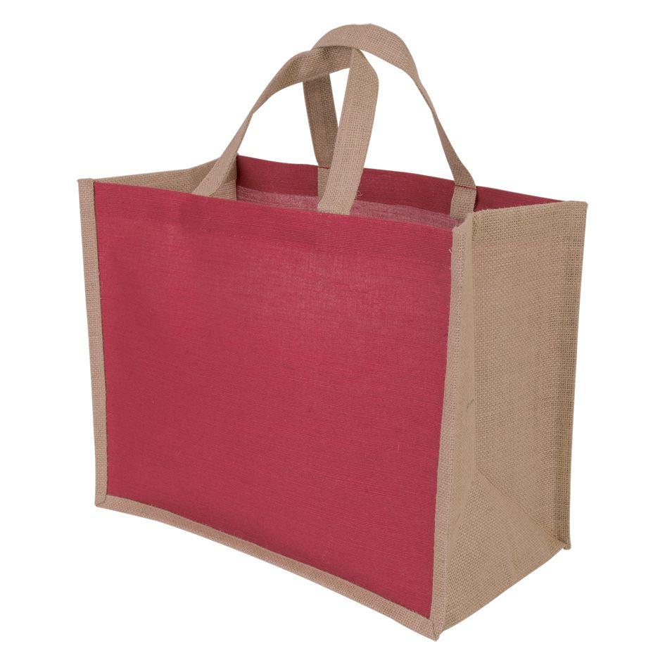 Sac shopping promotionnel écologique Juco - sac shopping publicitaire