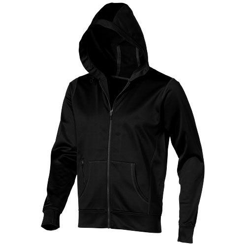 Sweat-shirt noir publicitaire