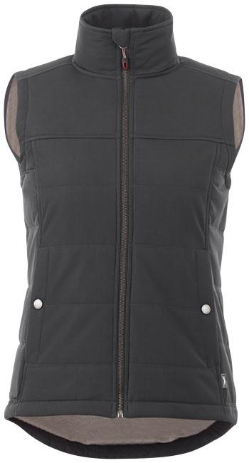 Textile promotionnel - Bodywarmer personnalisé femme Swing - noir