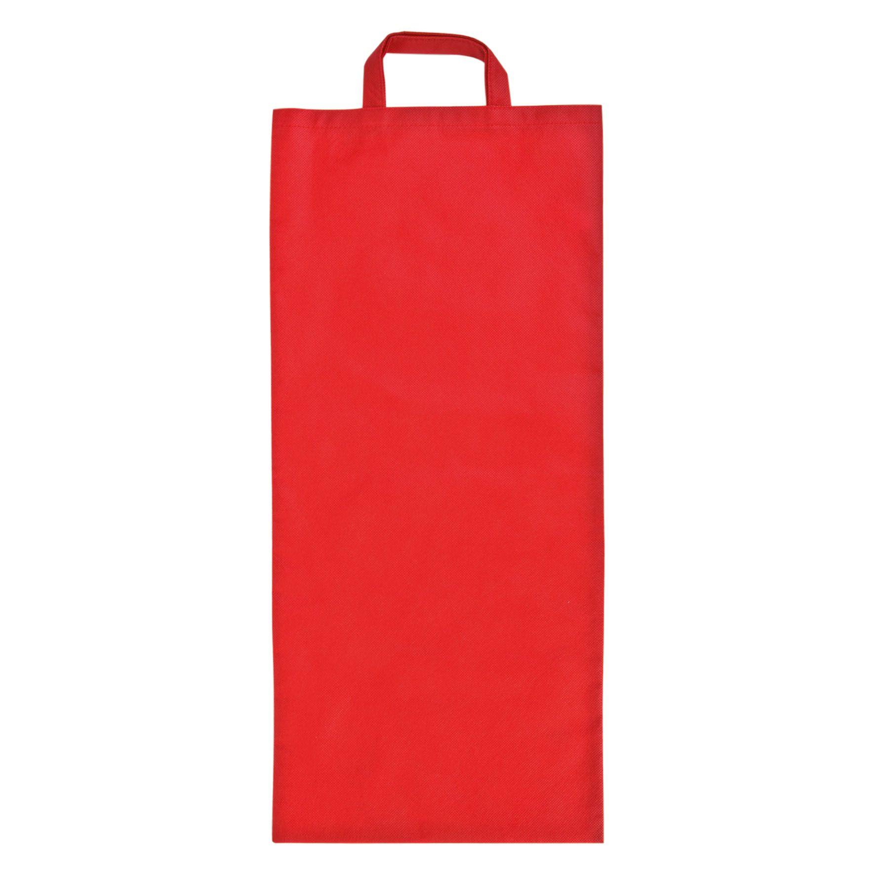 Sac à pain publicitaire non tissé Miette - sac à pain personnalisable rouge