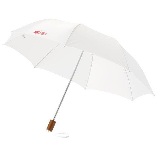 Parapluie publicitaire rouge