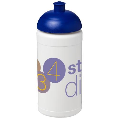 Gourde sport publicitaire Baseline® Plus 500 ml avec couvercle dôme - Objet publicitaire pour le sport