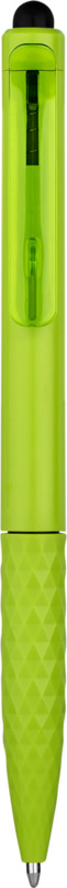 Stylo-stylet publicitaire vert