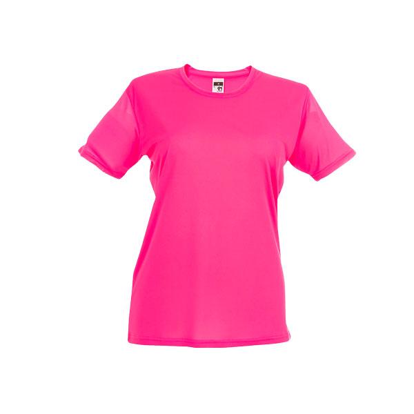 T-shirt publicitaire technique femme Nicosia - orange
