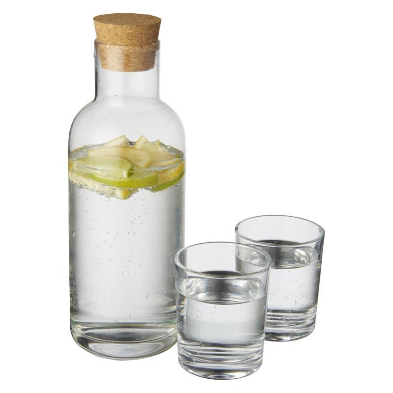 Set carafe et verres publicitaires Lanee - cadeau d'entreprise