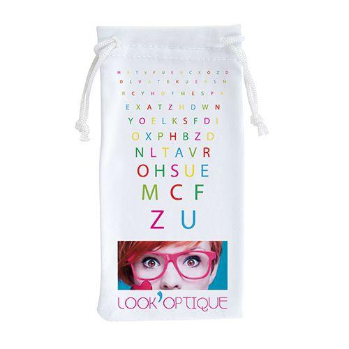 goodies optique - étui à lunettes personnalisé quadri Thual