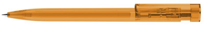 Stylo promotionnel Liberty Transparent - stylo publicitaire fabriqué en Europe