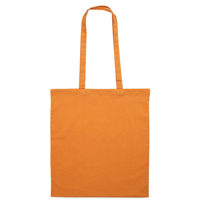 Sac en coton publicitaire 140 g Cottonel + - sac shopping personnalisé bleu