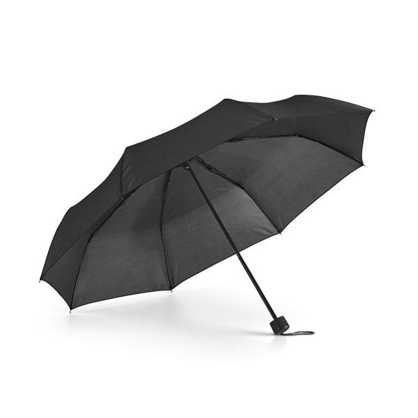 Parapluie pliable publicitaire Cormoran bleu