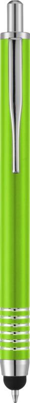 Stylo-stylet personnalisable Zoe vert