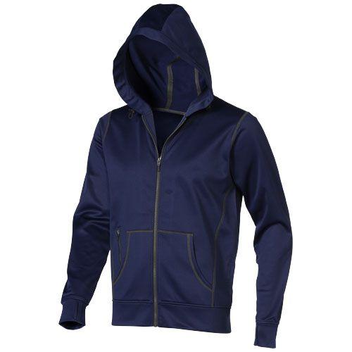 Sweater à capuche bleu marine