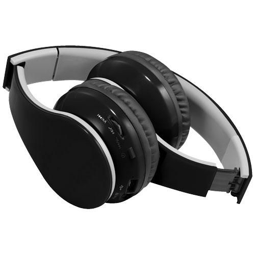 Casque Bluetooth® publicitaire Rhea noir - Cadeau d'entreprise