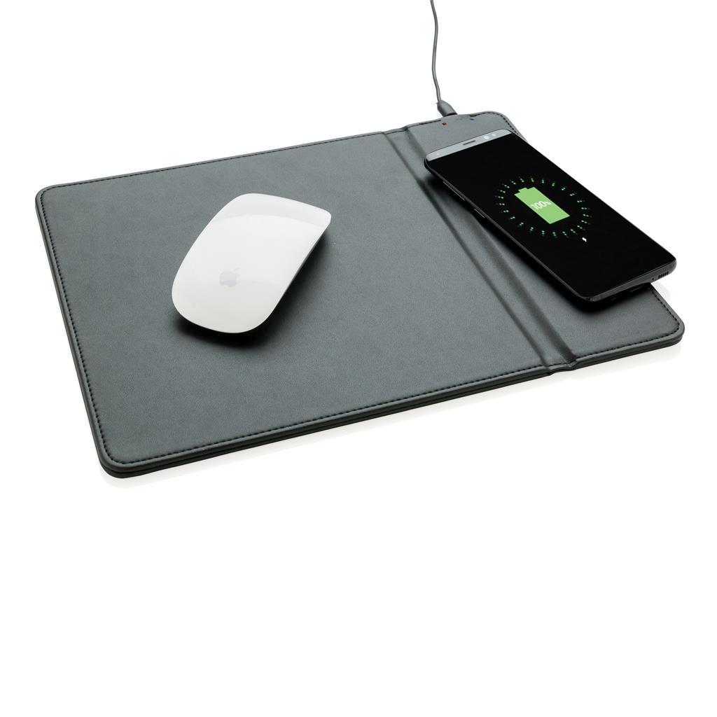 Tapis des souris publicitaire avec chargeur induction Freel - cadeau publicitaire