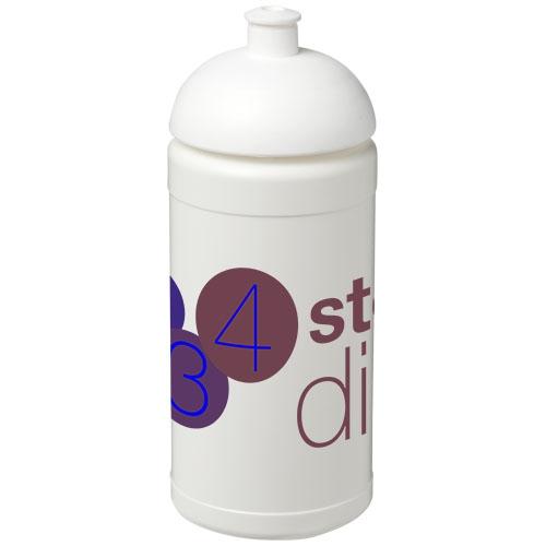 Gourde sport publicitaire Baseline® Plus 500 ml avec couvercle dôme - Cadeau d'entreprise