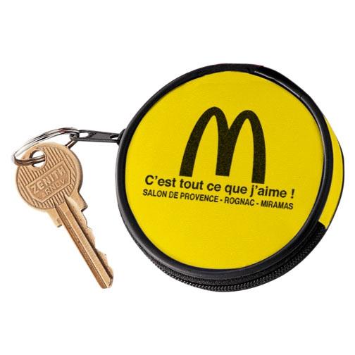 Goodies - Mini porte-monnaie publicitaire Circle - jaune