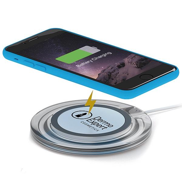 Chargeur à induction publicitaire Disk - Cadeau publicitaire