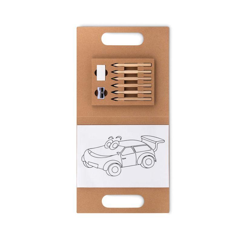 Cadeau publicitaire pour enfants - Set de coloriage FOLDER2 GO