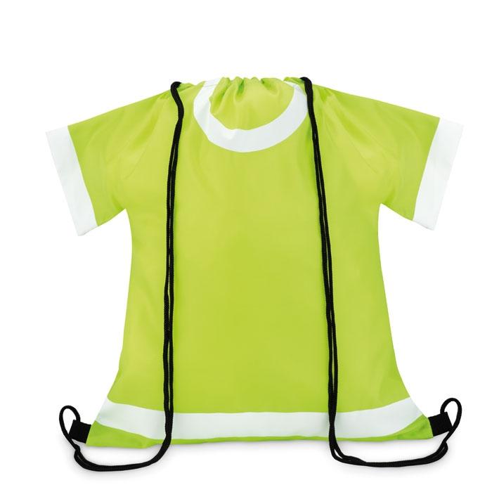 objet publicitaire - gymbag personnalisé forme maillot de foot Draw