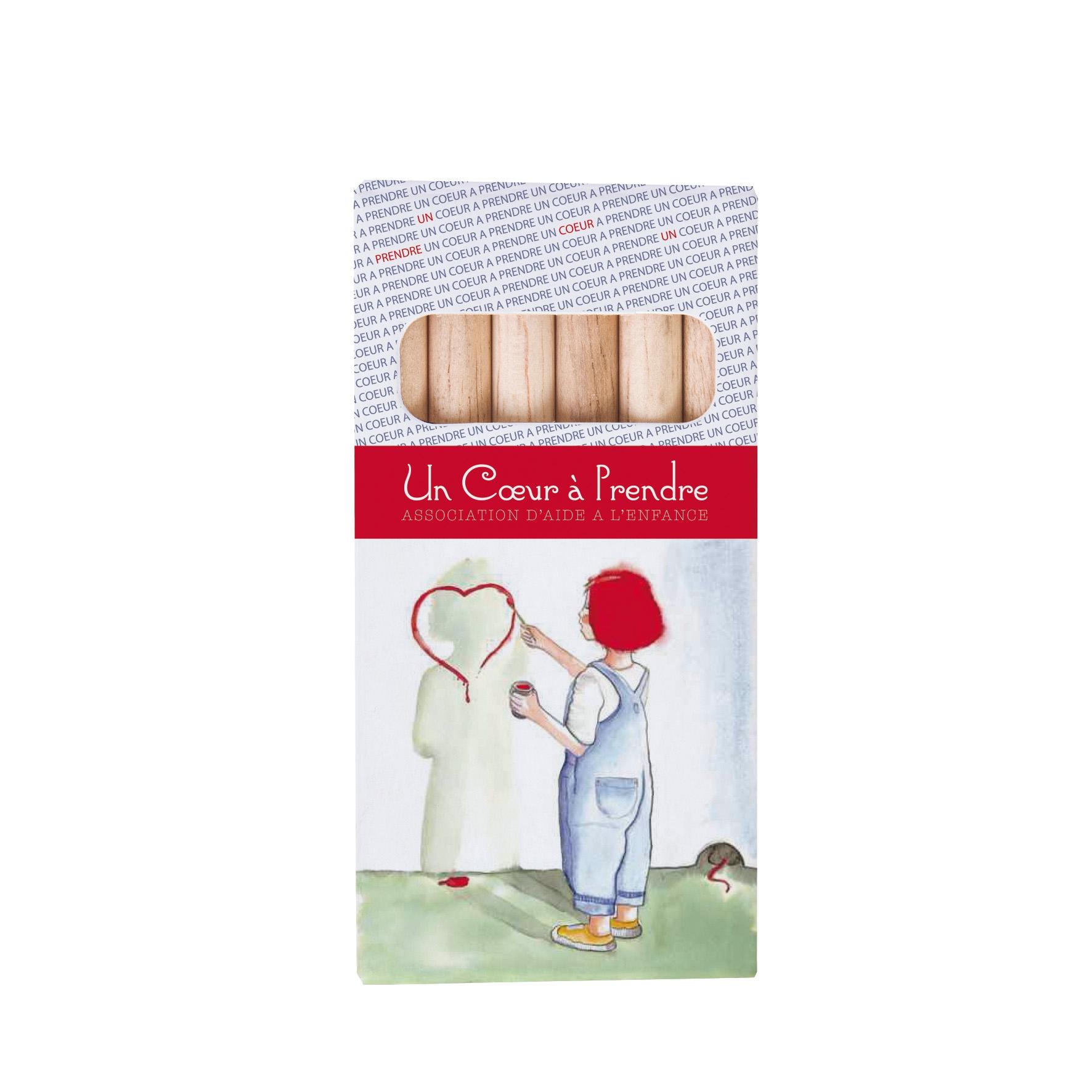 cadeau publicitaire enfants - 6 Aquarellables Eco 8,7