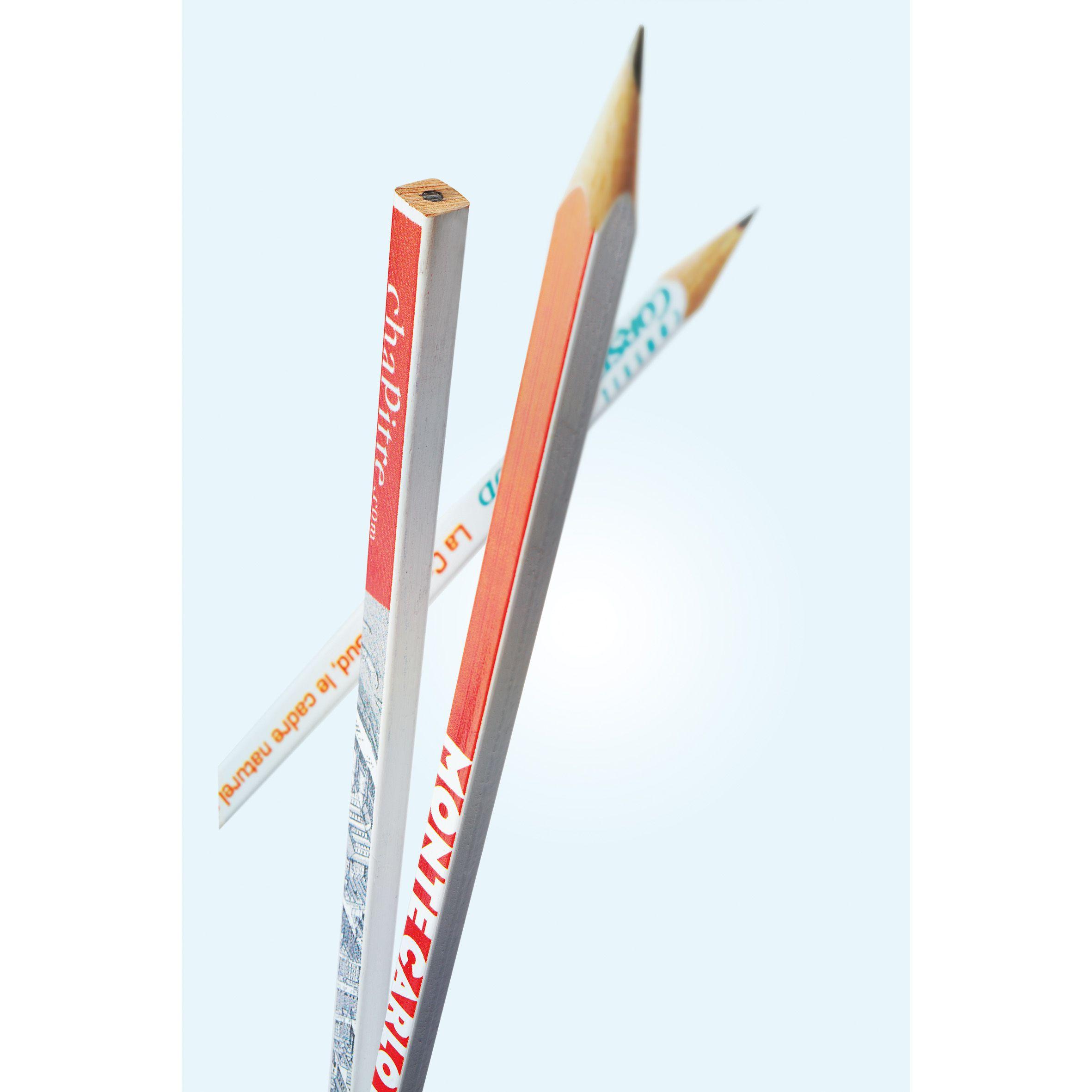 Crayon à papier publicitaire Ecogreen Carré - Goodies écologique