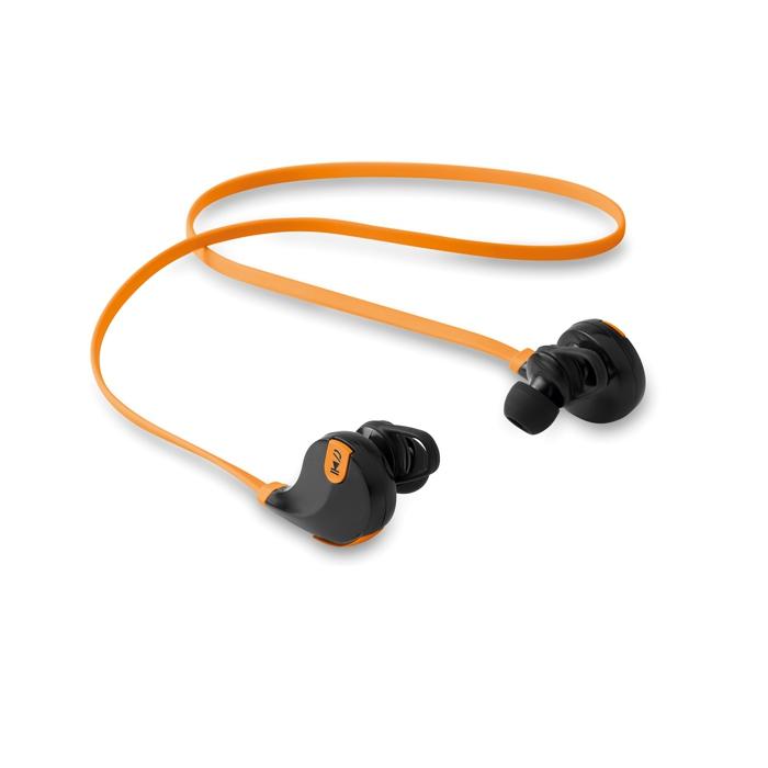 Cadeau d'entreprise - Écouteurs publicitaires Bluetooth Rockstep