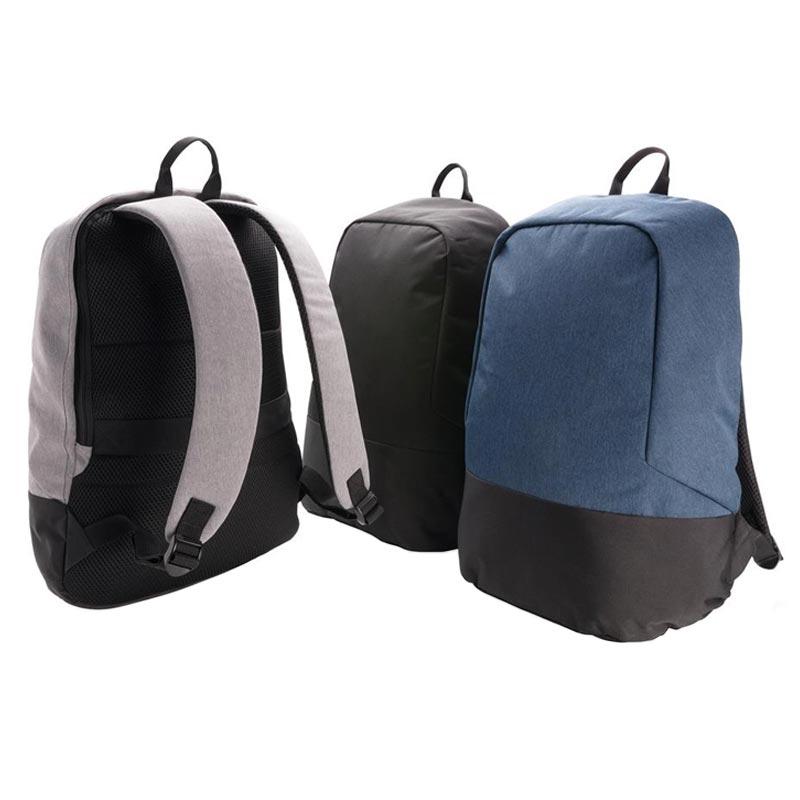 sac à dos publicitaire antivol anti RFID - coloris disponibles