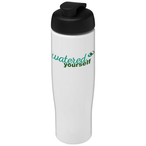 Bouteille de sport personnalisée H2O Tempo® 700 ml avec couvercle à clapet - Cadeau promotionnel