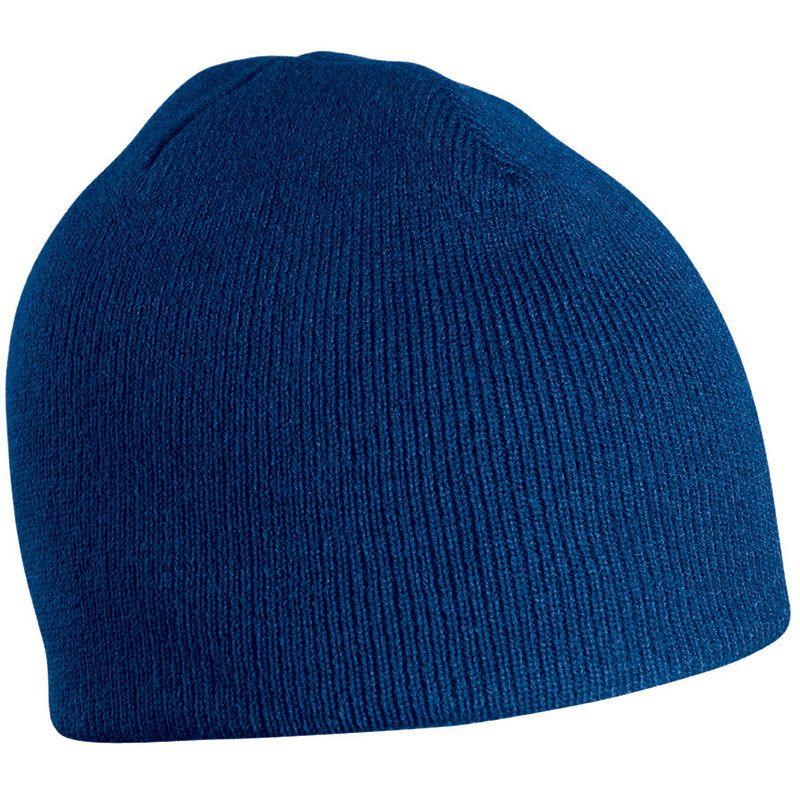 Bonnet publicitaire tricot sans revers Bobo - Objet publicitaire textile hiver - jaune