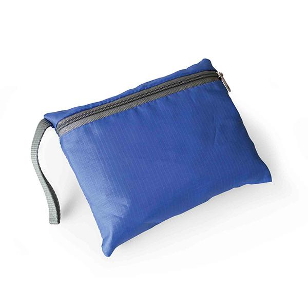 Pochette intégrée sac à dos personnalisable Jumpy - sac à dos publicitaire bleu royal