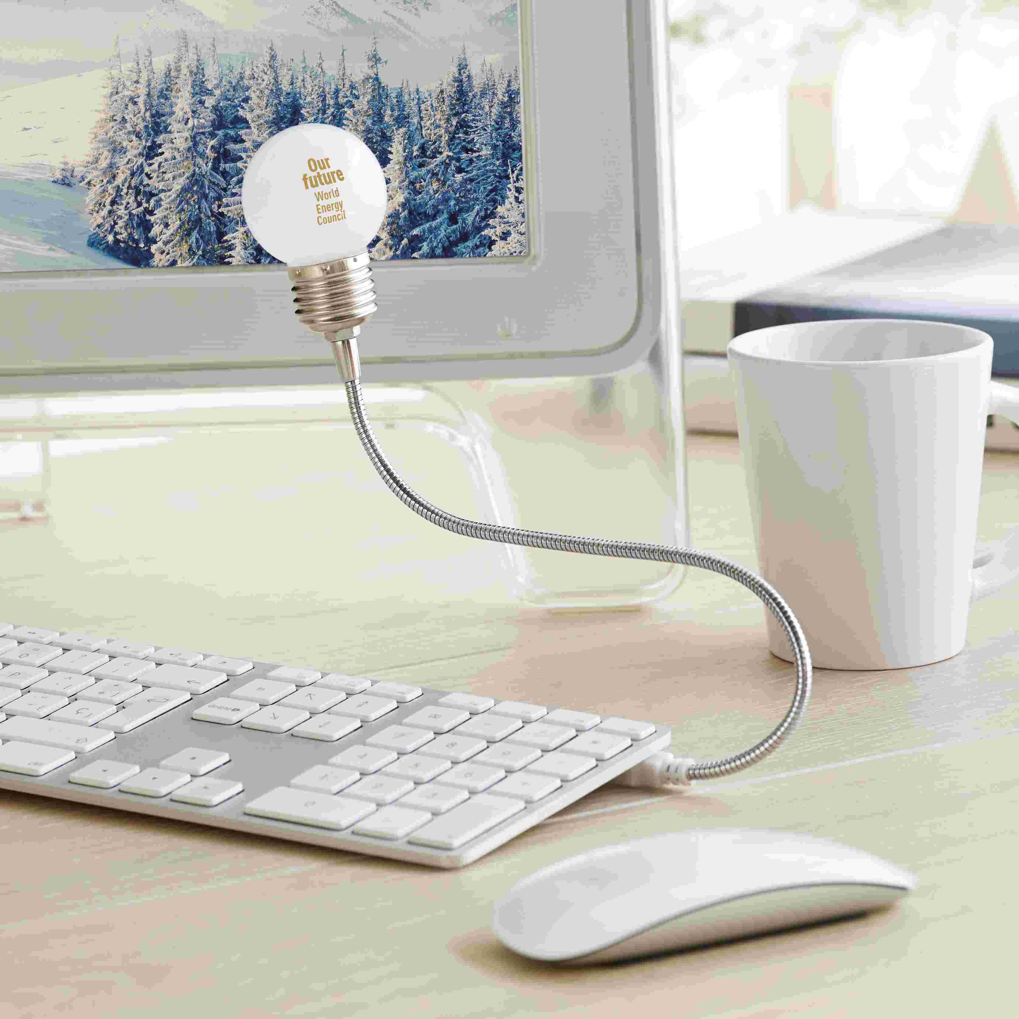 Lampe personnalisable Bulblight - cadeau publicitaire