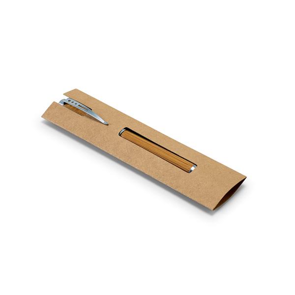 Stylo promotionnel en bambou Lake - stylo publicitaire écologique