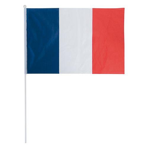 goodies pour supporters - drapeau français personnalisé 45 x 30 cm