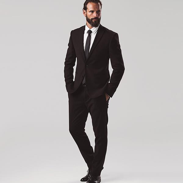 Textile promotionnel - Pantalon de costume pour homme Lisbon